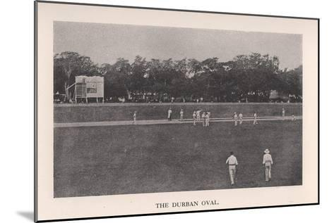 The Durban Oval, South Africa, 1912--Mounted Giclee Print