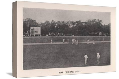 The Durban Oval, South Africa, 1912--Stretched Canvas Print