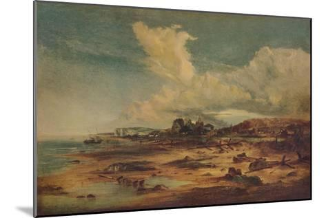 Coast Scene with Church, c1824-John Constable-Mounted Giclee Print