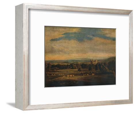 Naworth Castle, c1826-John Constable-Framed Art Print