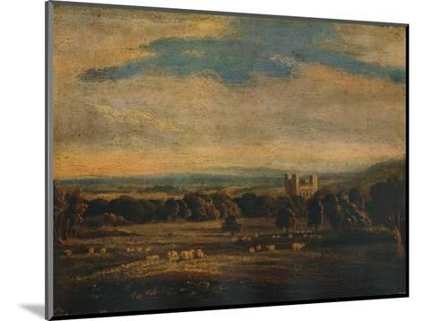 Naworth Castle, c1826-John Constable-Mounted Giclee Print