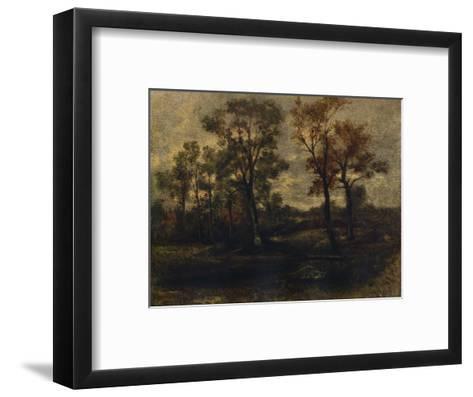 West End Fields, Hampstead, c1833-John Constable-Framed Art Print