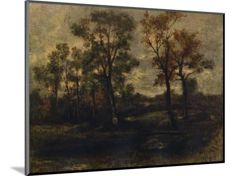 West End Fields, Hampstead, c1833-John Constable-Mounted Giclee Print