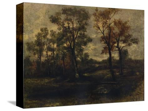 West End Fields, Hampstead, c1833-John Constable-Stretched Canvas Print