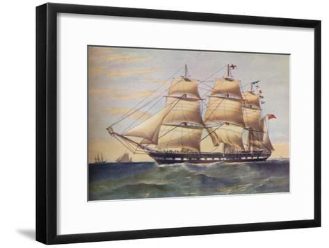 Clipper Ship, Sussex, c1853-Thomas Goldsworth Dutton-Framed Art Print