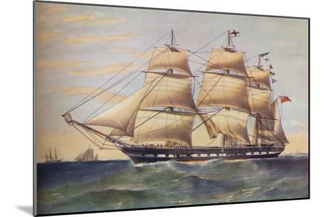 Clipper Ship, Sussex, c1853-Thomas Goldsworth Dutton-Mounted Giclee Print