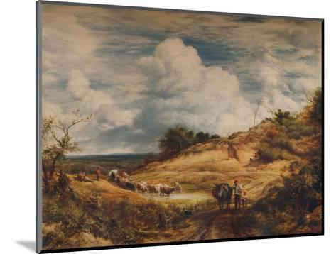 The Sandpits, 1856-John Linnell-Mounted Giclee Print