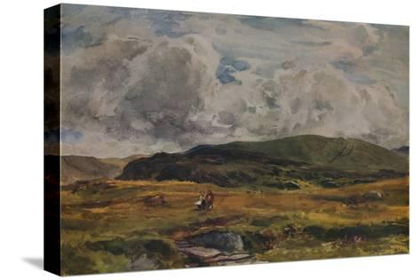 A Path over the Fields, 1881-Thomas Collier-Stretched Canvas Print