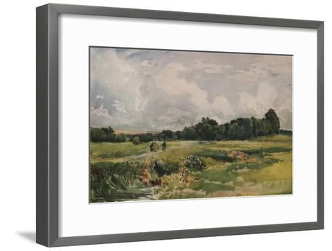 The Marshes, c1879-Thomas Collier-Framed Art Print