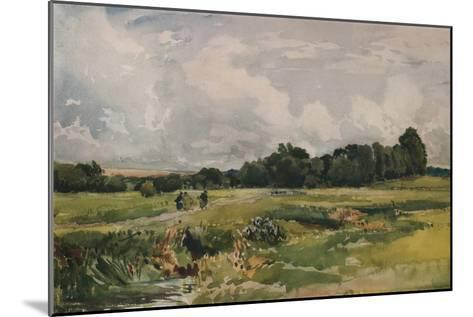 The Marshes, c1879-Thomas Collier-Mounted Giclee Print