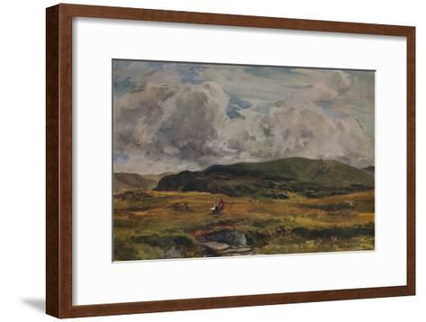 A Path over the Fields, 1881-Thomas Collier-Framed Art Print