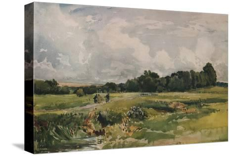 The Marshes, c1879-Thomas Collier-Stretched Canvas Print