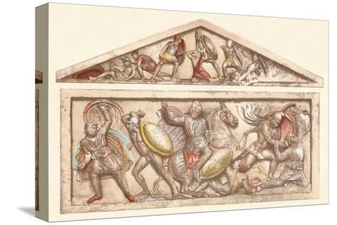 The Alexander Sarcophagus, c1901, (1907)--Stretched Canvas Print