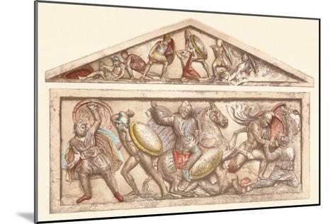 The Alexander Sarcophagus, c1901, (1907)--Mounted Giclee Print