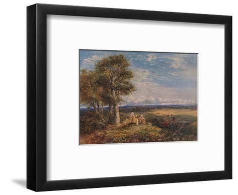 The Skylark, 1848-David Cox the elder-Framed Art Print