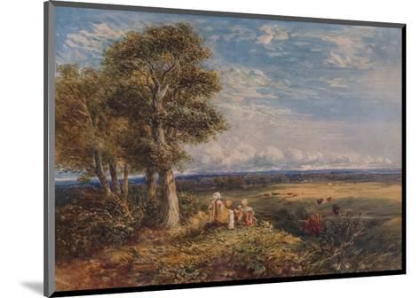 The Skylark, 1848-David Cox the elder-Mounted Giclee Print