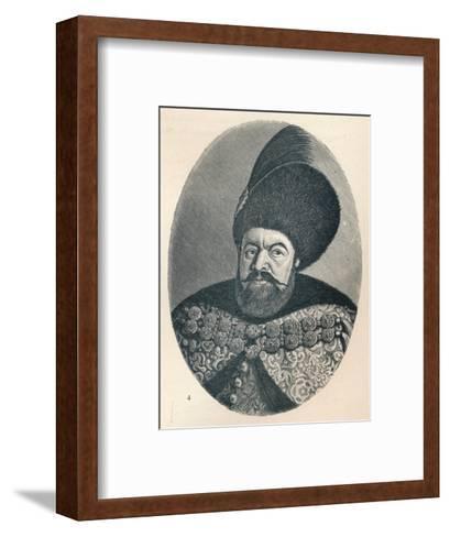 Vasile Lupu, Prince of Moldavia, c1906, (1907)--Framed Art Print