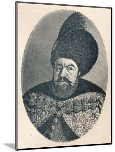 Vasile Lupu, Prince of Moldavia, c1906, (1907)--Mounted Giclee Print