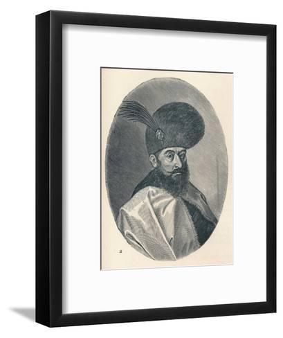 Michael the Brave, Prince of Wallachia, c1906, (1907)--Framed Art Print