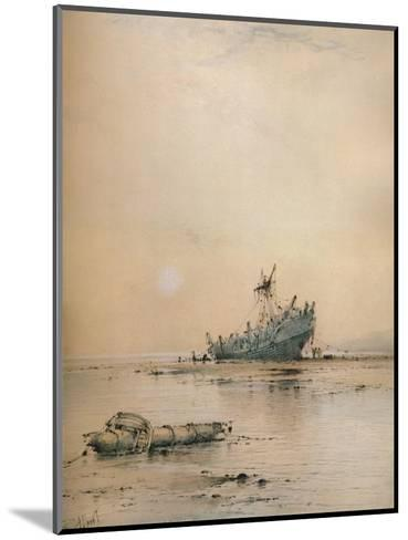 Low tide at Leigh, c1899-Albert Ernest Markes-Mounted Giclee Print