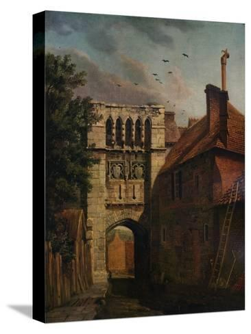 West Gate, Winchester, 1779-Michael Angelo Rooker-Stretched Canvas Print