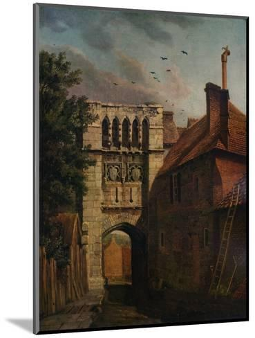 West Gate, Winchester, 1779-Michael Angelo Rooker-Mounted Giclee Print
