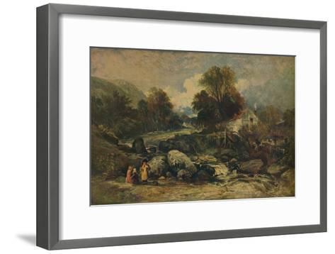 Dol-y-Garrog Mill near Llanrwst, Caernarvonshire, c1844-William James Muller-Framed Art Print