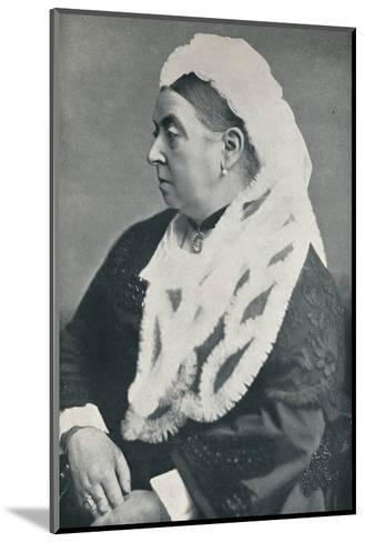 The Queen at the age of sixty six, c1885, (1901)-Alexander Bassano-Mounted Photographic Print