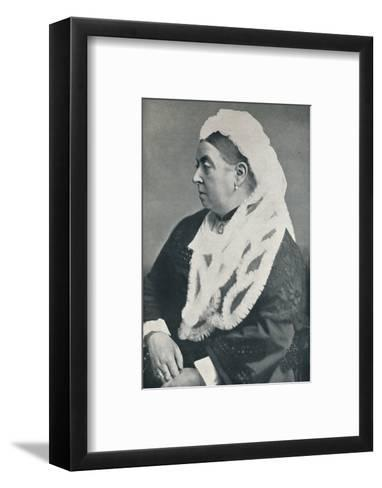 The Queen at the age of sixty six, c1885, (1901)-Alexander Bassano-Framed Art Print