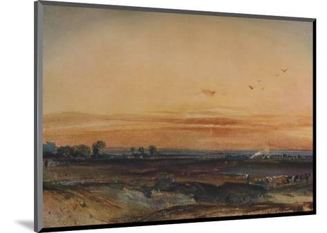 Sunset, 1826-Richard Parkes Bonington-Mounted Giclee Print