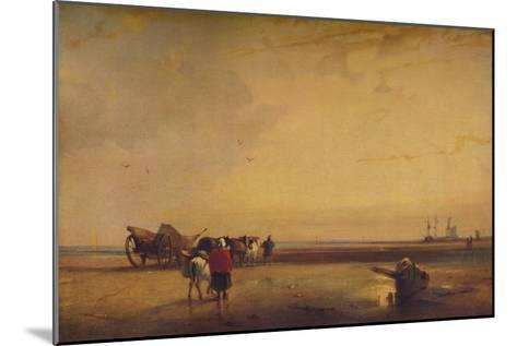 Boulogne Sands, 1827-Richard Parkes Bonington-Mounted Giclee Print
