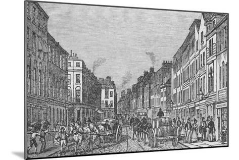Tooley Street in the First Half of the Nineteenth Century, c1840, (1912)--Mounted Giclee Print