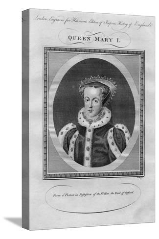 Queen Mary I, 1780s--Stretched Canvas Print