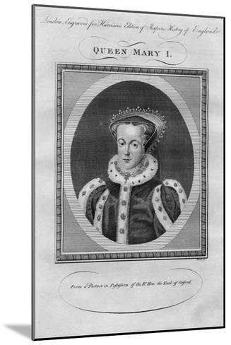 Queen Mary I, 1780s--Mounted Giclee Print
