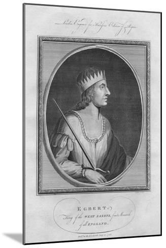 Egbert, King of Wessex, 1786--Mounted Giclee Print