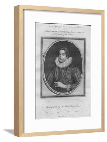 King James I, 1787--Framed Art Print