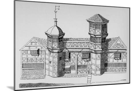 Vaux Hall Manor House, c1813, (1912)--Mounted Giclee Print