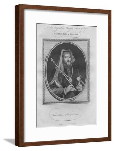 King Henry IV, 1787--Framed Art Print