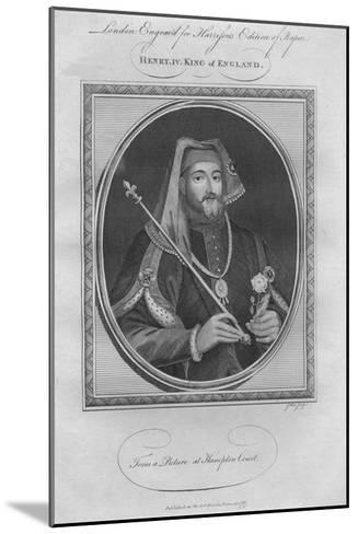King Henry IV, 1787--Mounted Giclee Print