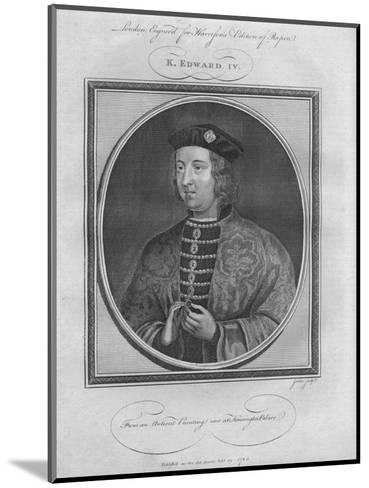 King Edward IV, 1785--Mounted Giclee Print