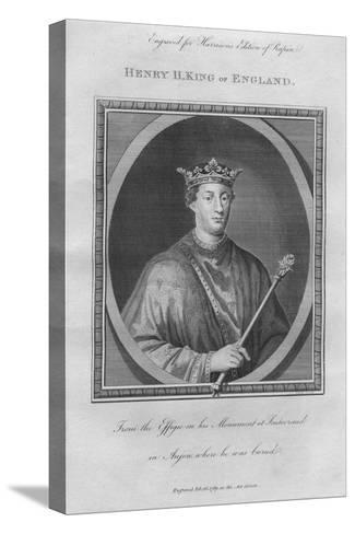 King Henry II, 1789--Stretched Canvas Print