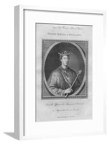 King Henry II, 1789--Framed Art Print