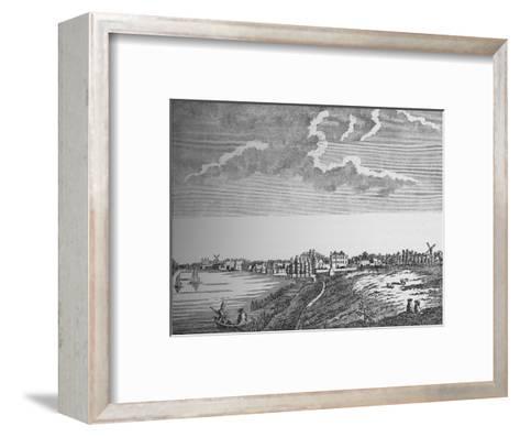 View of Wandsworth, Surrey, c1780, (1912)--Framed Art Print