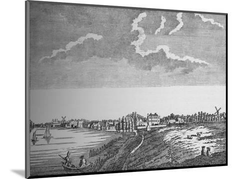 View of Wandsworth, Surrey, c1780, (1912)--Mounted Giclee Print