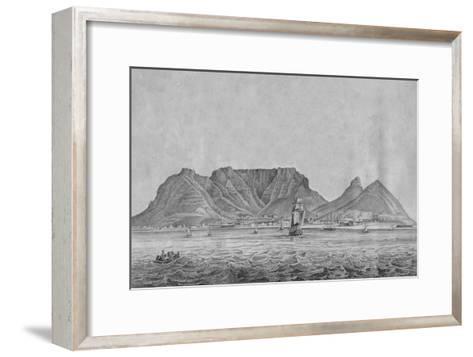 Cape Town Cape of Good Hope, c1830--Framed Art Print