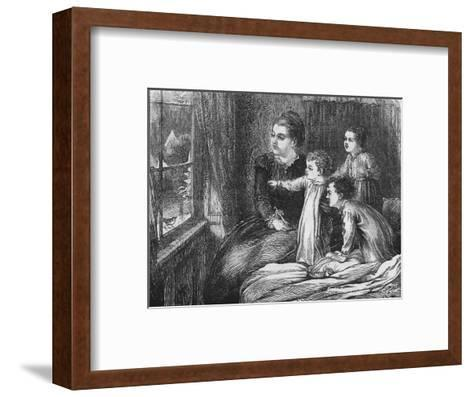 A Christmas Visitor, 1870-Horace WilliamPetherick-Framed Art Print