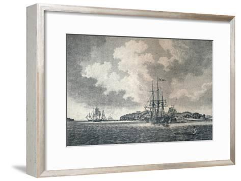 A View of Botany Bay, 1789-Robert Clevely-Framed Art Print