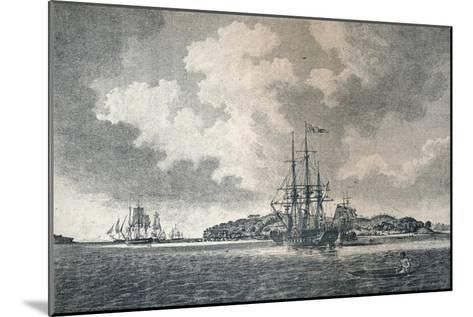 A View of Botany Bay, 1789-Robert Clevely-Mounted Giclee Print