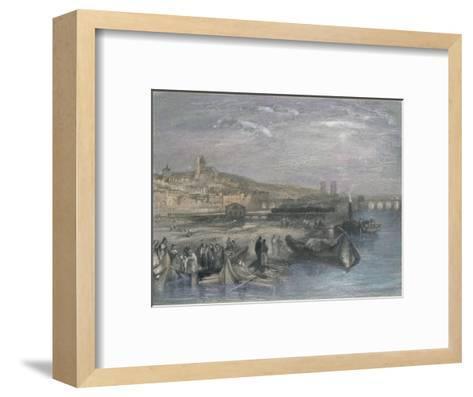 Melun, 1835-S Fisher-Framed Art Print