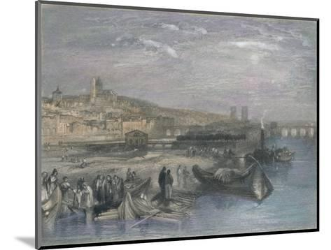 Melun, 1835-S Fisher-Mounted Giclee Print